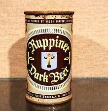 * Usbc 126-35 1950s Jacob Ruppert Ruppiner Dark Flat Top Beer Can New York Ny