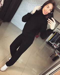 New Womens Knitted suit tracksuit