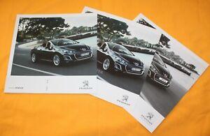 Peugeot 308 CC 2011 Prospekt Brochure Prospetto Catalog Folder Prospect
