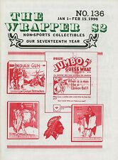 THE WRAPPER #136: Fleer MAD Stickers LUCKY Comic Cards INDIAN Gum Cards RARE!