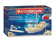 Matchitecture 6643 - Chinese Junk Matchstick Model Kit - Tracked 48 Post