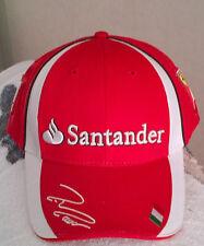 Felipe Massa Ferrari Team Drivers Cap !