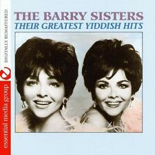 Their Greatest Yiddish Hits - Barry Sisters (2013, CD NEUF) CD-R