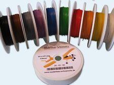 250 Meter Litze 0,05mm² LIFY SET 10 verschiedene Farben Kabel auf Spule