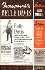 ANOTHER MAN'S POISON pressbook, Bette Davis, Gary Merrill, Emlyn Williams