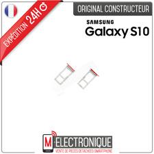 TIROIR SIM ROUGE ORIGINAL SAMSUNG GALAXY S10 SM-G973F