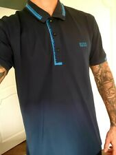 Hugo Boss Polo Shirt T Navy Blue XXL Used Excellent Cond - WAS £120