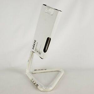 Ikea Harte LED Adjustable Work Desk Lamp White Silver