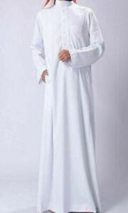 Thobe for Men in White Color