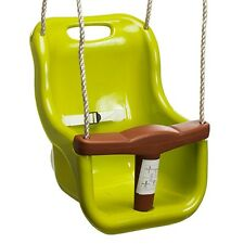 Swing Slide Climb BABY SWING SEAT 365x420x250mm,25Kg Load GREEN/YELLOW*AUS Brand