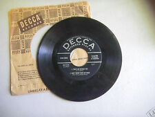 WEBB PIERCE wondering/there stands glass/that's me without u/don/t throw life 45