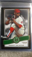 2016 Topps Museum Collection Green #92 Danny Salazar /199 Cleveland Indians