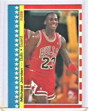 1987-88 FLEER STICKER  #2 MICHAEL JORDAN CHICAGO BULLS BEAUTIFUL NM+/MT