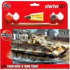 AIRFIX A55303 PZKW VI Ausf.B King Tiger Tank Starter Set 1:76 Model Kit