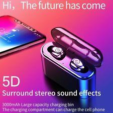 Bluetooth 5.0 Earbuds Headphones Wireless Headset Noise Cancelling Waterproof