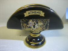 Handmade in Greece in 24k gold envelope / napkin holder