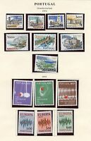 PORTUGAL LOT OF 1972   NEVER HINGED  STAMPS