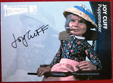 THUNDERBIRDS 50 YEARS - Joy Cuff, Puppetmaker, Autograph Card - JC , Unstoppable