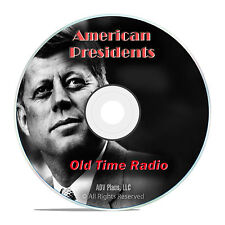 1,341 American President Radio Speeches, Reagan, Nixon, JFK, LBJ OTR mp3 DVD G36