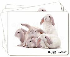White Rabbits 'Happy Easter' Picture Placemats in Gift Box, AR-5EAP