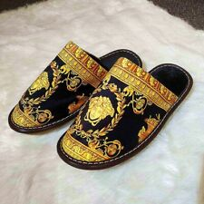 Luxury Medusa Baroque Bath Slippers Men Home Designer Shoes Classic Collections