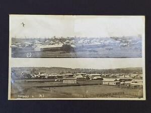 Australia KINGAROY City View Vintage Real Photo Postcard Photo Mergard