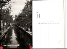 509887,Netherlands Delft Gezicht op Oude Delft Kanal Turm