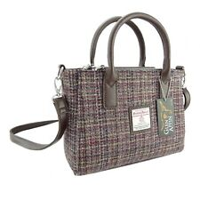 Ladies Authentic Harris Tweed Small Tote Bag With Shoulder Strap LB1228 COL 25