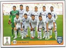 PANINI-2016 FIFA 365- #028-CLUB WORLD CUP-MOROCCO 2014-CRUZ AZUL FC TEAM PHOTO