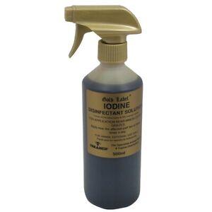 Gold Label Iodine Spray 500ml