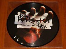 JUDAS PRIEST BRITISH STEEL LP PICTURE DISC *RARE* BOB PRESS VINYL 2010 LTD New