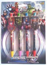 Marvel AVENGERS ASSEMBLE 4 Piece Pen Avengers Stationery Set