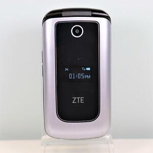 ZTE Cymbal Z233VWS (Verizon) 4G LTE Flip Phone, IMEI Clean Ready