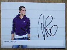 Handsignierte Autogrammkarte *ANDREA PETKOVIC* Tennis Deutschland WTA Motiv: 3