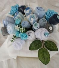 Beautiful Baby Boys Large Quality Clothing Bouquet baby shower gift Basket