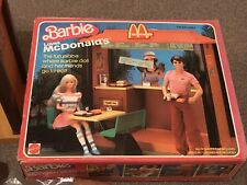 Vintage Barbie McDonald's Play Set