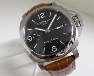PANERAI Luminor GMT PAM 00320 320, Manufakturwerk, UPE* 8.500,- EURO