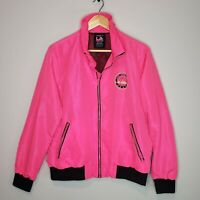 LA Gear x Forever 21 Jacket Full Zip Hot Pink Neon Vintage Inspired Plus Size 1X