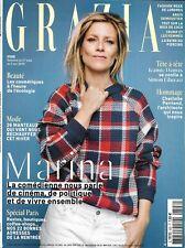 GRAZIA n°508 27/09/2019 Marina Foïs_Paris/ J.Damas_Trump & les femmes_C.Perriand