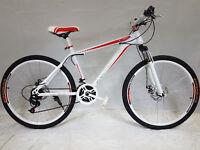 "bicicleta de montaña 26 PULGADAS ""kamarte"" MTB 21 velocidades, RH 43cm"