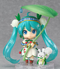 Brand New Official Good Smile Company Hatsune Miku 2015 Nendoroid Snow Bell Ver.