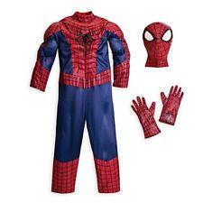 NEW  Disney Store Superhero Amazing SPIDERMAN Deluxe Costume  size 4 NWT