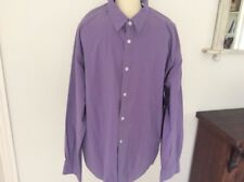 Mens Tom Tailor Lilac Shirt XXL