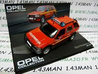 OPE72R voiture 1/43 IXO OPEL collection : FRONTERA A pompiers
