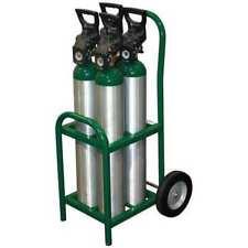 SAFTCART MDE-4 Cylinder Trolley,250 lb.,35 In. H