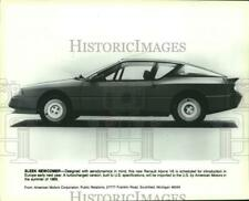 1984 Press Photo Renault Alpine V6 - mjx78982