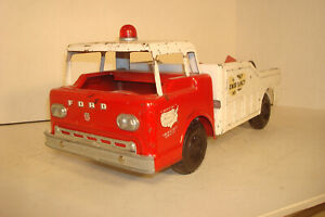 NYLINT TOYS FORD HY-WAY EMERGENCY COE PICKUP WRECKER TOW TRUCK.. PARTS, RESTORE