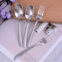 1pc skeleton skull spoon forks stainless steel tableware cooking accessorie 3C