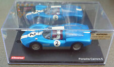 Carrera EXCLUSIV 1/24 Scale Slot Car 20431 Porsche Carrera 6 1966 #2 New