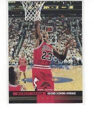 1993-94 UPPER DECK BASKETBALL MR. JUNE MICHAEL JORDAN #MJ8 RECORD SCORING AVG